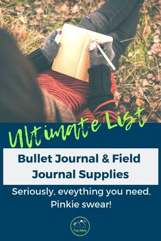 The ULTIMATE Bullet Journal Supply List and Nature Notebook Supply List! From the best products you need, to how to keep them all organized, this is your complete guide to bullet journal supplies! Camping Activities For Kids, Nature Journal, Hiking Tips, Family Camping, Kids And Parenting, The Great Outdoors, Notebooks, Pens, Organize