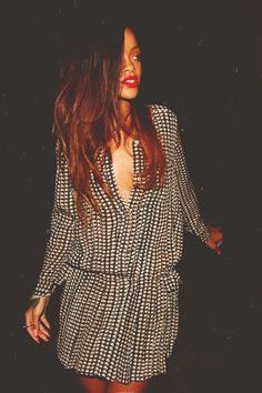 Rihanna. Love her, never afraid to be herself, and she is hella gorgeous.