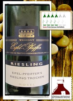 2012 Weingut Eifel Pfeiffer Riesling Spätlese Estate Collection - Fruity a nice crisp