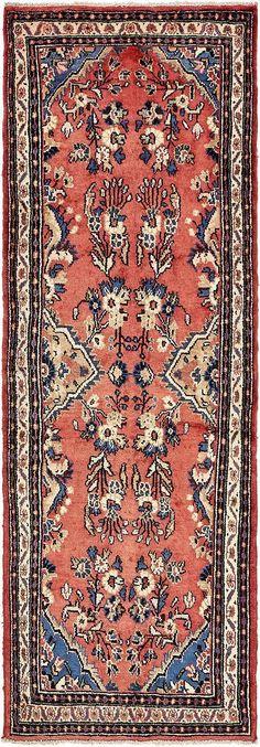 $709 - 3' 7 x 10'  Peach 3' 7 x 10' Liliyan Persian Runner Rug | Persian Rugs | eSaleRugs