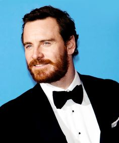 Michael Fassbender at the 71st Annual Golden Globes - Press Room