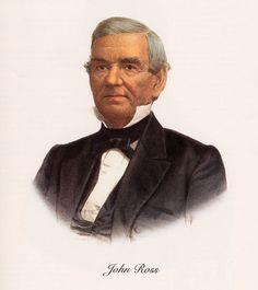 John Ross, a famous Cherokee Chief. Native American Proverb, Native American Cherokee, Native American Tribes, Native American History, Native Americans, American Symbols, Cherokee History, Cherokee Chief, Cherokee Nation