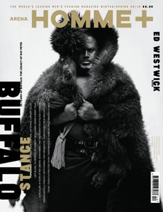 Neville Brody Guest Art Directs Arena Homme +