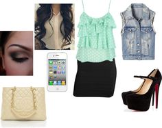 """Clubbing"" by corysinclair ❤ liked on Polyvore"