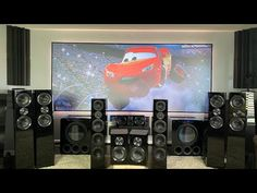 *Must See* SVS Ultra Dolby Atmos & 144 inch Black Diamond Screen Innovations Svs Subwoofer, Theater Recliners, Living Room Sofa Design, Get Toned, Surround Sound Systems, Dolby Atmos, Home Entertainment, Audio System, Home Theater