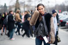 Joan Smalls in Rag & Bone