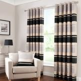 Black Portobello Curtain Collection  #pinittowinit #dunelm