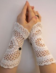 Made with doilies