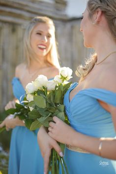 As lindas Demoiselles de Bárbara e Anderson!  Assessoria Flor de Lis
