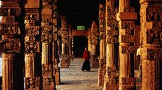 Qutb Minar complex, Delhi    Lonely Planet - great resource for travel information