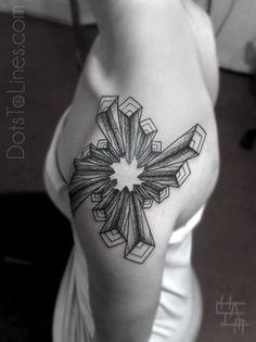 #tattoo #geometrical #dotwork #blackwork