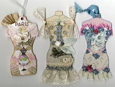 Artfully Musing: Marie Antoinette Dress Form Swap