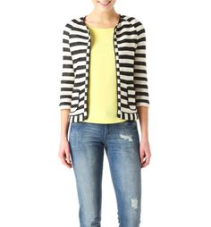 Striped jacket black stripes - Promod