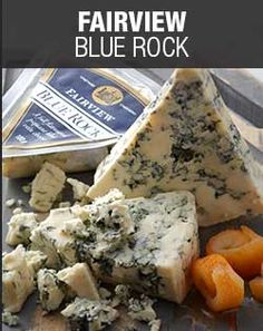 Checkers - Fairview Blue Rock The renowned Fairview Blue Rock is a World Cheese Awards Gold Medal and First Prize Winner. Featuring a rich, firm yet creamy texture, this blue roquefort-style cheese is matured for four to six months and can be perfectly paired with a sweet Bordeaux.