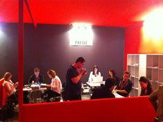 Salons @strategiec et @EMarketingParis : l'équipe @FGAssocies sur le pont à l'espace presse ! #relationclient