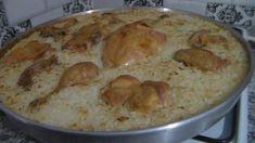 Mişoriz (Fırında Tavuklu Pilav) Arnavut Yemekleri - YouTube Turkish Mezze, Turkish Delight, Meat, Chicken, Kitchen, Youtube, Food, Chicken Rice, Recipes