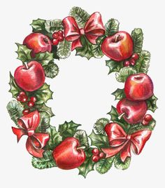 Christmas Wreath - - More than 3 million PNG and graphics resource at Pngtree. Find the best inspiration you need for your project. Christmas Porch, 12 Days Of Christmas, Christmas Art, Xmas, Flower Decorations, Christmas Decorations, Images Noêl Vintages, Holly Pictures, Vintage Christmas Images