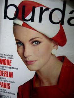 burda 1966 -  Moda Pop Art anos 60