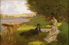 James Wallace (1872-1911) British Painter