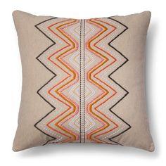 Threshold ™ Global Embroidered Throw Pillow – Threshold™ : Target