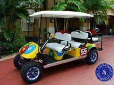 M & M golf cart