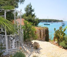Palmizana near Hvar, Croatia: a bohemian retreat with lush botanical gardens on a tiny island in the Adriatic Sea. http://www.i-escape.com/palmizana/overview