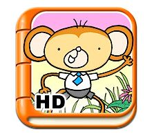 """Eric Jerman reviews a super-cute story book app called Tickle Finger. In this highly interactive story, the reader has to help Tiny Tinga the monkey get home by """"tickling"""" various predators along the way."""