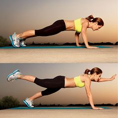 No more muffin top! Best core exercises
