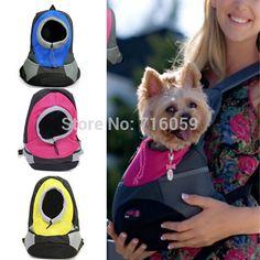 Alta calidad bolsa del animal doméstico mochila perrito cachorro Cat Carry Dog Outdoor viajes Carrier azul rosa en Transportines de Casa y Jardín en AliExpress.com | Alibaba Group