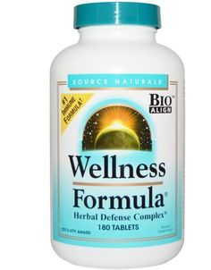 Wellness Formula Herbal Complex Nature Herbs 180 Tablets Bioalign Health Health…