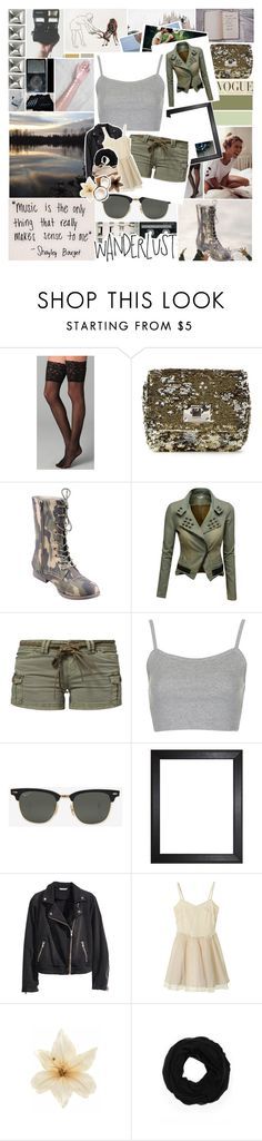A Fashion Adventure! by ammy-horan-98 on Polyvore featuring moda, Topshop, Doublju, Kaporal, Falke, Refresh, Jimmy Choo, H&M, Dr. Martens and Ray-Ban