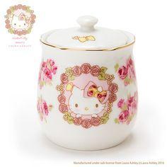 Hello Kitty Sugar Pot (Hello Kitty meets LAURA ASHLEY)