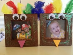 Thanksgiving Preschool Craft : Turkey Frame