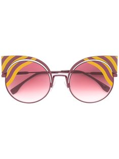f3b057f530 Fendi Eyewear  Hypnoshine  Fashion Show Sunglasses
