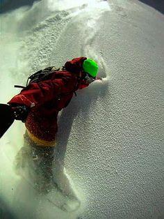 Pared recien pintada!! #GoPRO #Snowboarding #Snow #descenso #selfie #yosoydenieve