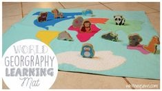 World Geography Learning Mat   Whitney Sews
