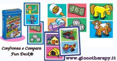 Confronta e Compara Fun Deck® http://www.giocotherapy.it/105-materiali-per-attivita-fonologiche