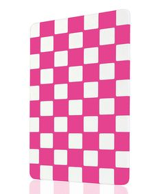Art & Cook Fuchsia Checkerboard Cutting Board