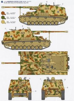 NASHORN: Army Vehicles, Armored Vehicles, Camouflage Colors, Panzer Iv, Military Armor, Tank Destroyer, Model Tanks, Ww2 Tanks, World Of Tanks