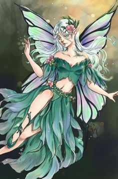 Forest Fairy By RainyDayCloud.