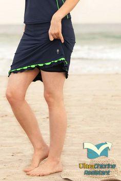 Fitness Skirt - 100% Chlorine Proof - Above the Knee - Skirts - BOTTOMS