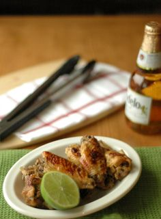 Glazed chicken wings are a great appetizer to put out at the beginning of any gathering, especially when they are packed with flavor like these Beer-Glazed Honey Lime Chicken Wings are. Beer Chicken, Honey Lime Chicken, Chicken Wing Recipes, Chicken Wings, Glazed Chicken, Crock Pot Slow Cooker, Crock Pot Cooking, Slow Cooker Recipes, Crockpot Recipes