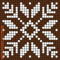 New Crochet Granny Square Chart Perler Beads Ideas Filet Crochet, Crochet Chart, Crochet Granny, Alpha Patterns, Loom Patterns, Beading Patterns, Crochet Stitches For Blankets, Tapestry Crochet Patterns, Cross Stitch Charts