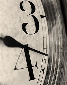 Time. Photo by Michelle Sypult
