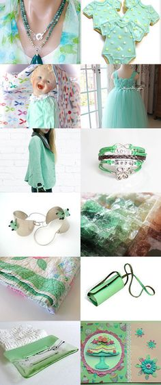 MINTY FRESH by Vickie Wade on Etsy--Pinned with TreasuryPin.com