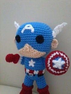 5 patrones gratuitos de superhéroes de amigurumi