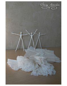 Como fazer Bailarina de arame e papel – Passo a Passo – Inspire sua Festa – Bem vindo ao Blog