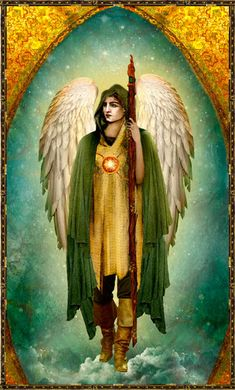 Saint Archangel Raphael by Biedron