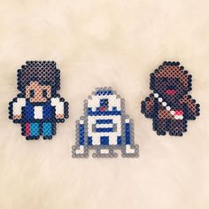 Star Wars characters perler beads by beadaholics