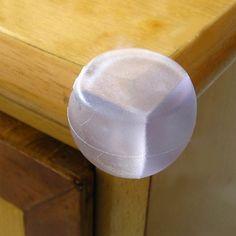 4 Seguridad Del Bebé Protectores de Esquina de Goma para la tabla